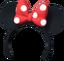Kopf - Minnie-Ohren (rot) KH0.2