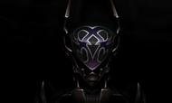 In Dunkelheit gehüllte Rüstung 3D