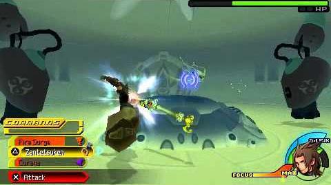 Kingdom Hearts Birth by Sleep - Experiment 221 - Terra Critical Mode