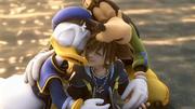 Sora, Donald und Goofy Abspann KHII