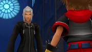 Xehanort begegnet Sora 3D