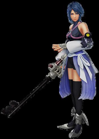 Aqua in Kingdom Hearts: 0.2 Birth by Sleep -A fragmentary passage-