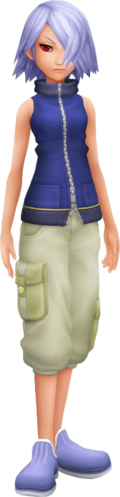 Fuu in Kingdom Hearts II