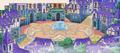 Daybreak Town Fountain Square (Artwork) KHχ