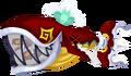 Trident Anchor (Rot) KHχ