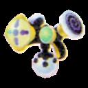Farbpistole Schwarz 3D