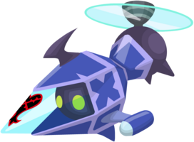 Gummi Thruster (Blau) KHχ