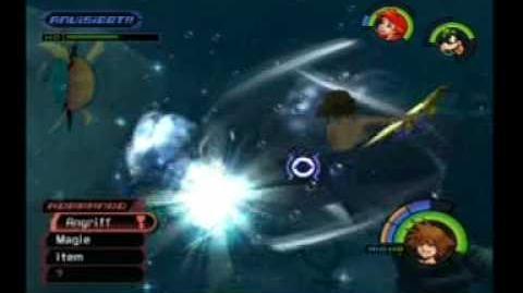 Kingdom Hearts Atlantica Shark (Glut) Fight