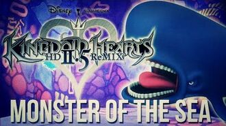 Mirage Arena - Monster of the Sea - Kingdom Hearts HD 2.5 Remix (Monstro Boss)