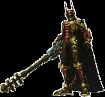 Terras Rüstung Verweilender Wille in Kingdom Hearts II: Final Mix