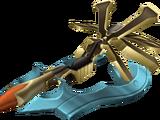 Schlüsselschwertgleiter