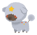 Gray Lambstar (Geist) KHUx