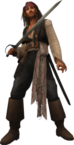 Käpt'n Jack Sparrow in Kingdom Hearts II