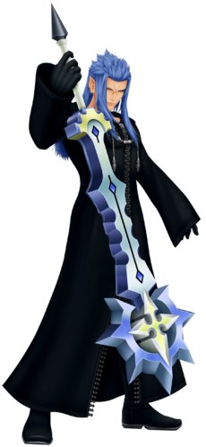Saïx in Kingdom Hearts II