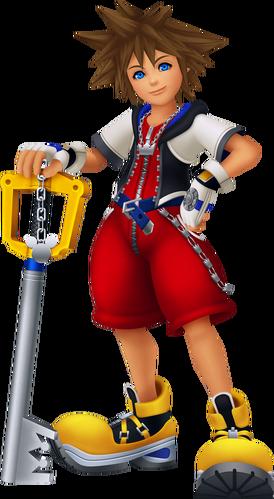 Daten-Sora in Kingdom Hearts Re:coded