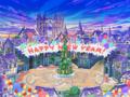 Daybreak Town zu Neu Jahr (Artwork) KHχ