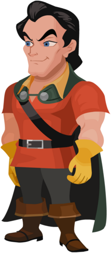 Gaston in Kingdom Hearts χ