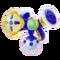 Farbpistole Blau 3D