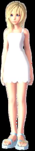 Naminé in Kingdom Hearts III