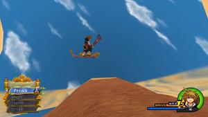 Fliegender Teppich (Mini-Spiel) KHII