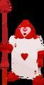 Herz Kartensoldat (Herz Ass) KHx
