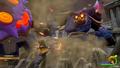 Sora kämpft gegen den Herzlosen Minotaurus KHIII