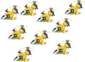 Gummi Squad (Gelb) KHχ