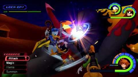 Kingdom Hearts 1 Final Mix Bosses 47 Destroyed Behemoth