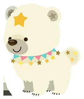 Ein weiß farbiger Snowcub Traumfänger in Kingdom Hearts Union χ