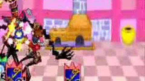 Kingdom Hearts Chain of Memories - Trickmaster Battle