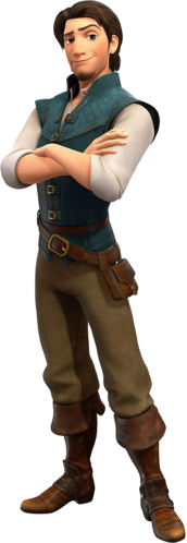 Flynn Rider in Kingdom Hearts III