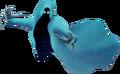 Dämon (blau) 3D