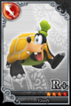 Karte 396 (Goofy-Schildkröten-Form) KHx