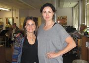Susannah Appelbaum (right) and another lady