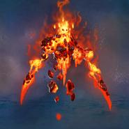 Neutral Fire Elemental