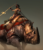 Nosorożec bitweny
