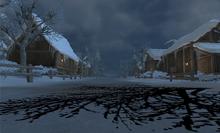 Wnętrze wioski