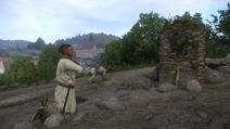 Молитва у лагеря разбойников