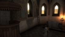Фреска Пресвятой Девы
