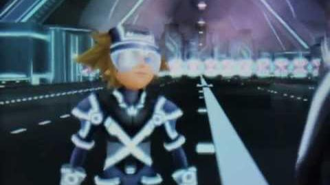 Kingdom Hearts 3D Dream Drop Distance - ¿Rinzler es Tron?