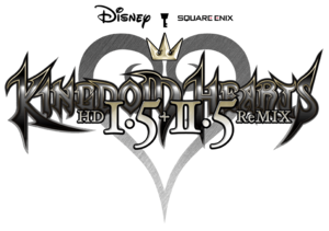 Kingdom Hearts HD 1.5 + 2.5 ReMIX Logo KH