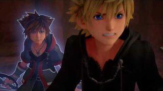 Kingdom Hearts III Re Mind Combat contre Saïx, Xion et Xemnas (Roxas)