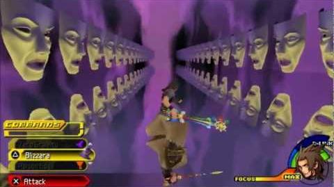 Kingdom Hearts Birth By Sleep Battle-Magic Mirror (Terra)