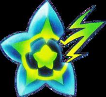 Fragment d'étoile concept