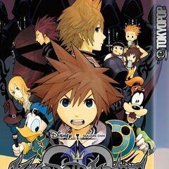 Segundo tomo del manga de <i>Kingdom Hearts II</i>