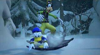 Kingdom Hearts III Expert Luge alpine & Combat contre les Dragons de givre