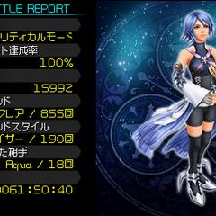 The End en el Episodio Secreto de <i>Kingdom Hearts Birth by Sleep Final Mix</i>.