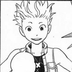 Hayner apareciendo en el manga de Kingdom Hearts II