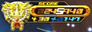 Score Vaisseau Gummi KH2