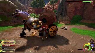 Kingdom Hearts III Critique Portail de combat 6